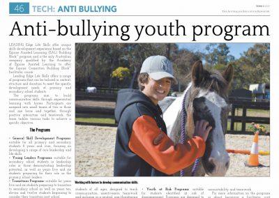 Anti-Bullying Youth Program
